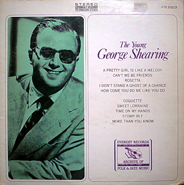 #<Artist:0x007f821db7e570> - The Young George Shearing