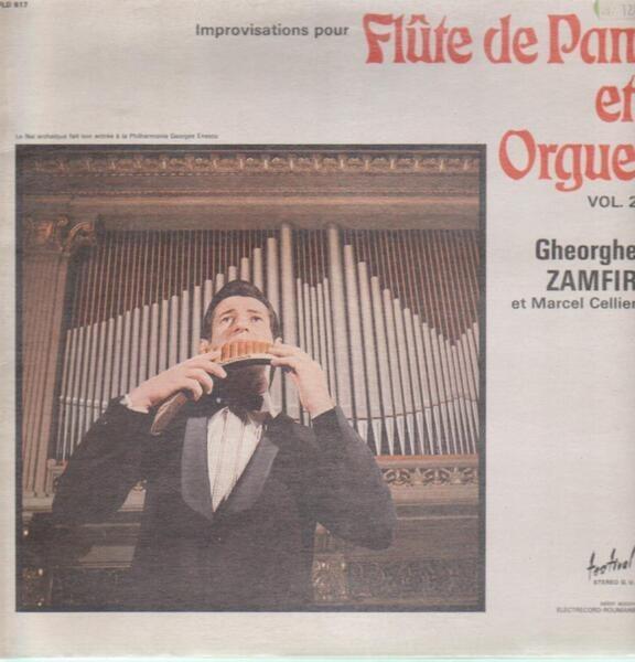 Flute de pan et orgue 2 by Gheorghe Zamfir, LP with maziksound - Ref ...