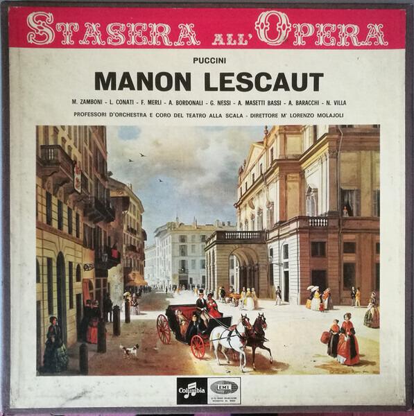 #<Artist:0x00000000080b7e28> - Manon Lescaut