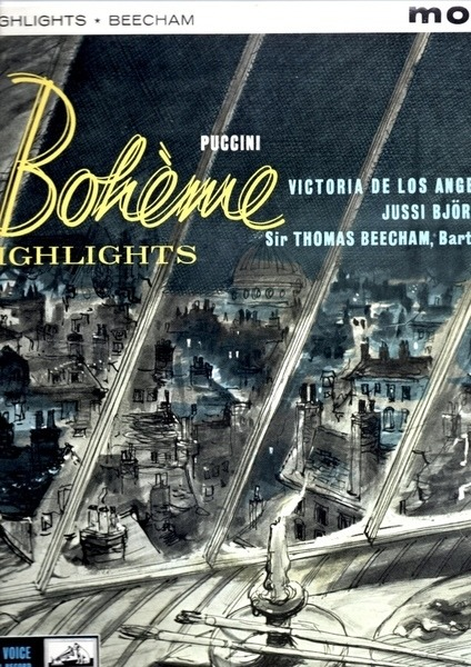 #<Artist:0x00007fcea7e46650> - Highlights From 'La Boheme'