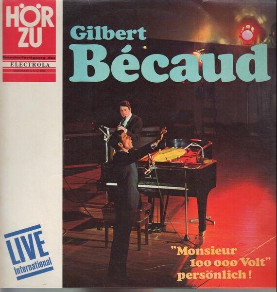 Gilbert Bécaud Live