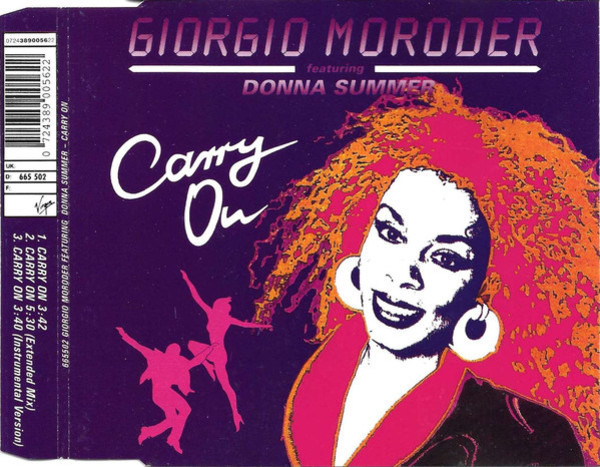 GIORGIO MORODER FEATURING DONNA SUMMER - Carry On - CD single
