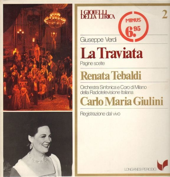 Giuseppe Verdi La Traviata Records, LPs, Vinyl and CDs