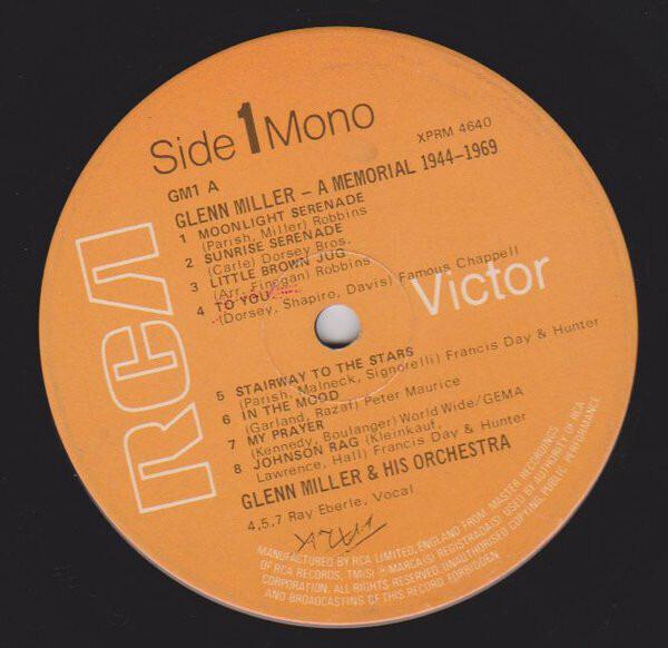 #<Artist:0x00007f64fcfdaad0> - Glenn Miller - A Memorial 1944-1969