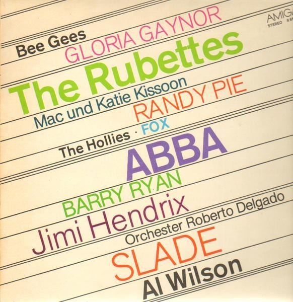 Gloria Gaynor, Jimi Hendrix, The Bee Gees Amiga Sampler
