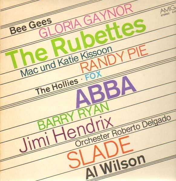 Gloria Gaynor, Jimi Hendrix, The Bee Gees ... Amiga Sampler