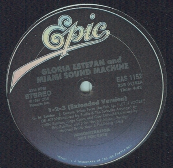 Gloria Estefan And Miami Sound Machine, Miami Soun 1, 2, 3
