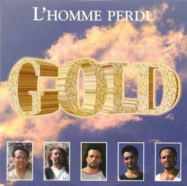 GOLD - L'homme Perdu (CARDBOARD SLEEVE) - CD single