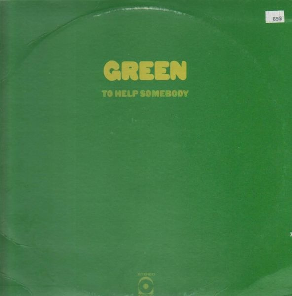 Green - To Help Somebody Record