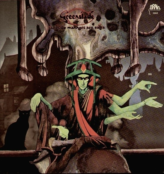 GREENSLADE - Bedside Manners Are Extra (GREEN BRAIN) - LP