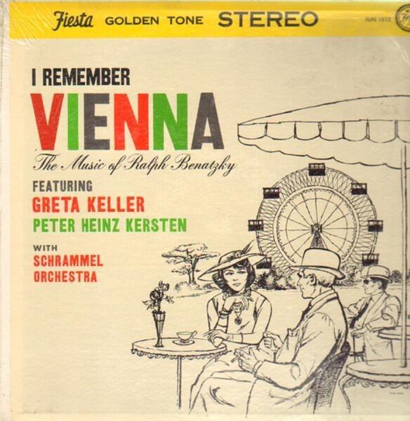 #<Artist:0x007f7035600db8> - I Remember Vienna - The Music of Ralph Benatzky