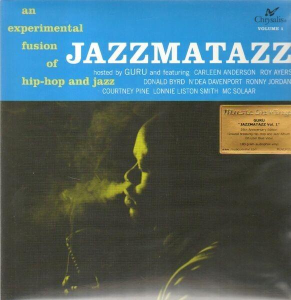 jazzmatazz volume 1 blue vinyl 180g guru lp 売り手