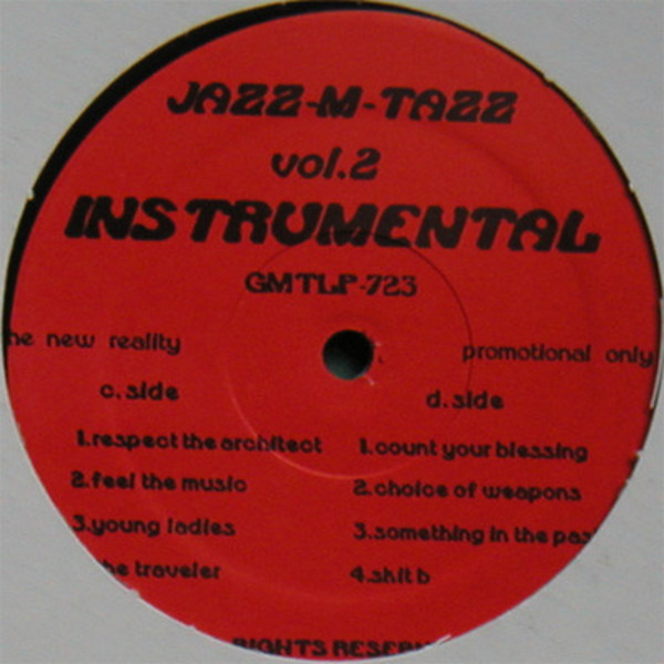 #<Artist:0x00007fcea72c0650> - Jazz-M-Tazz Vol.2 Instrumental (The New Reality)