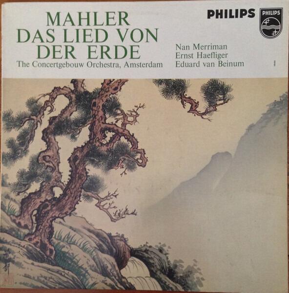 Gustav Mahler - Nan Merriman , Mezzo-Soprano; Erns Das Lied Von Der Erde