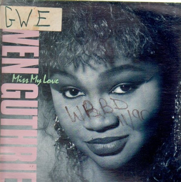 GWEN GUTHRIE - Miss My Love - 12 inch x 1