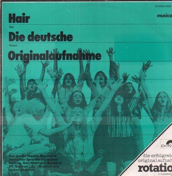'HAARE' ENSEMBLE - Haare (Hair) - Die Deutsche Originalaufnahme - 33T