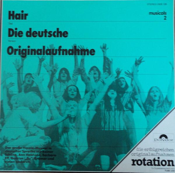 'HAARE' ENSEMBLE - Hair (Die Deutsche Originalaufnahme) - 33T