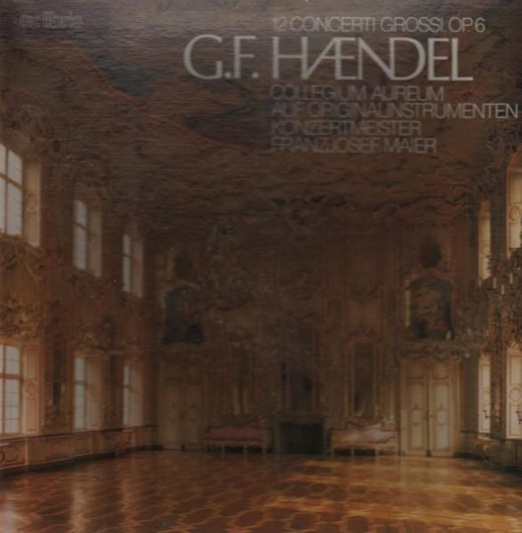 Händel 12 Concerti Grossi (HARDCOVERBOX + BOOKLET / 1 RECORD MISSING)