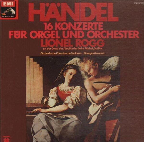 Händel 16 Konzerte für Orgel und Orchester (Rogg) (BOX + BOOKLET, QUADROPHONIC)
