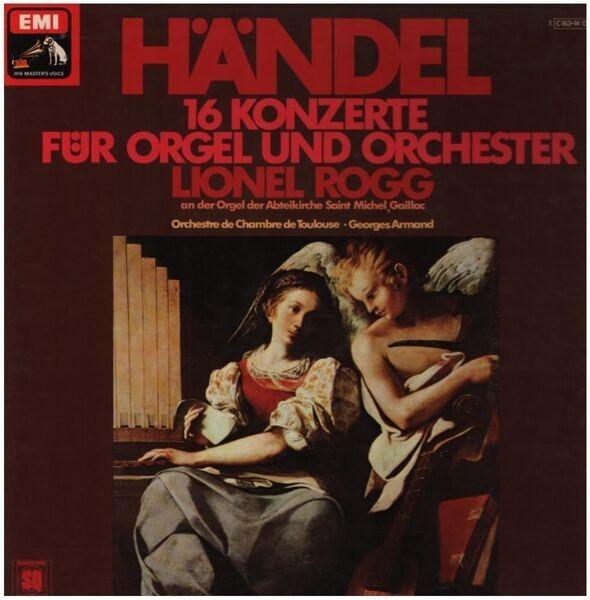 Händel/ Lionel Rogg, Orchestre de Chambre de Toulo 16 Konzerte für Okrgel und Orchester (QUADROPHONIC)