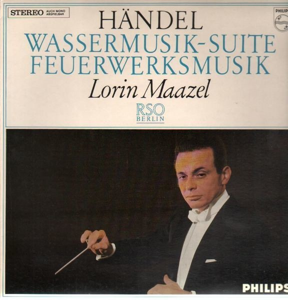 Image result for lorin maazel handel wassermusik