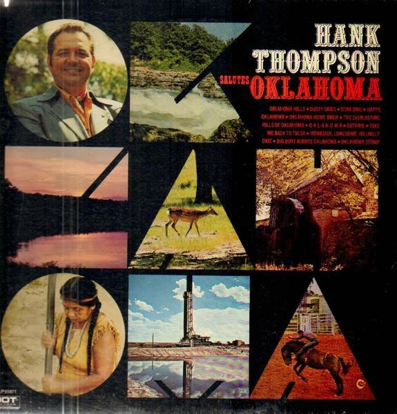 #<Artist:0x007f756b174688> - Hank Thompson Salutes Oklahoma