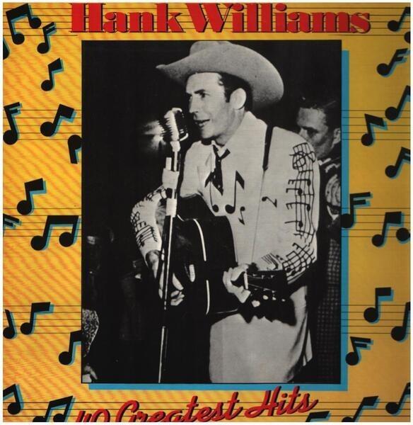 #<Artist:0x007fafb0d2f340> - Hank Williams - 40 Greatest Hits