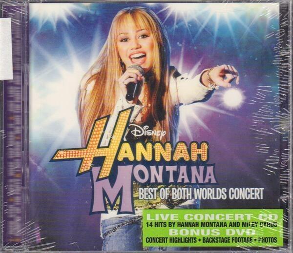 HANNAH MONTANA - Best Of Both Worlds Concert (STILL SEALED) - CD