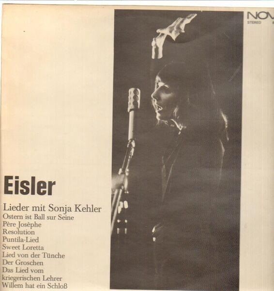 Hanns Eisler/Sonja Kehler Lieder mit Sonja Kehler