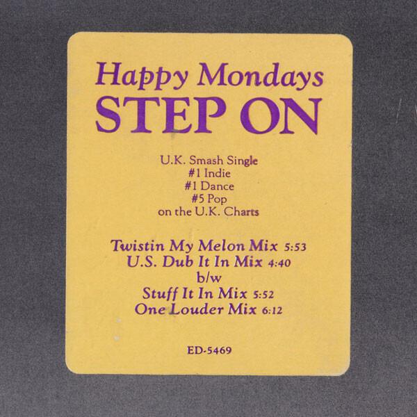 HAPPY MONDAYS - Step On - Maxi x 1