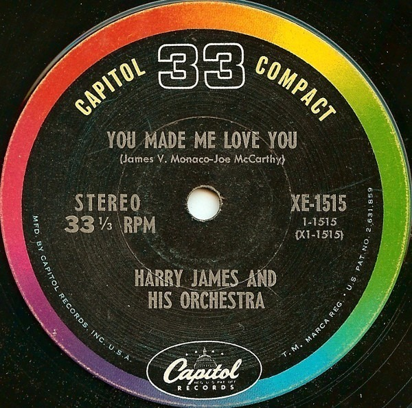 #<Artist:0x000000041a1388> - The Hits of Harry James