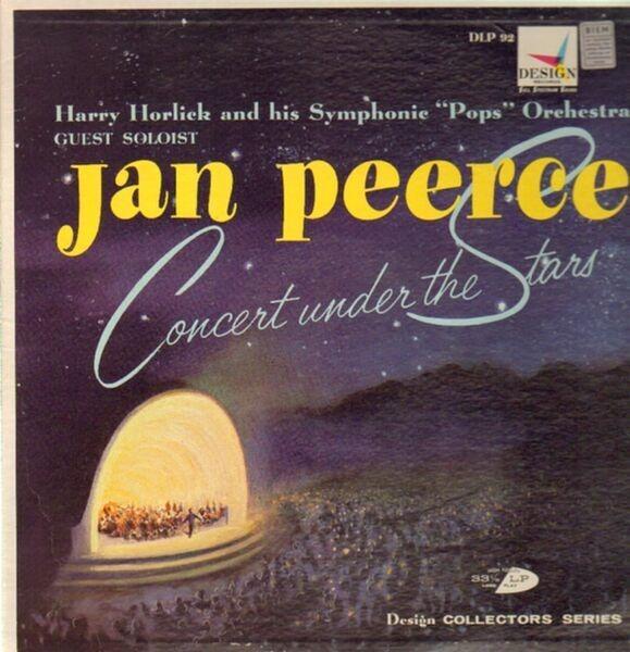 Jan Peerce - Concert Under The Stars