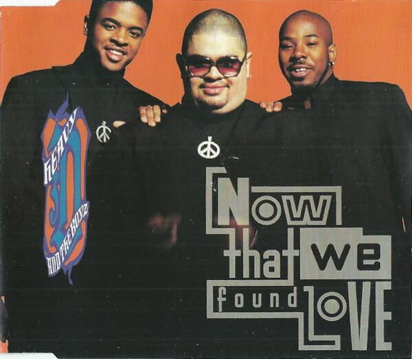 HEAVY D. & THE BOYZ - Now That We Found Love - CD single
