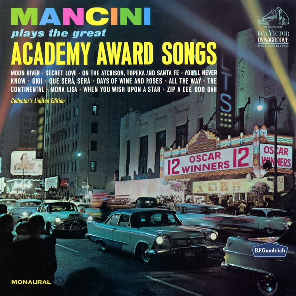 HENRY MANCINI - Plays The Great Academy Award Songs - Maxi x 1
