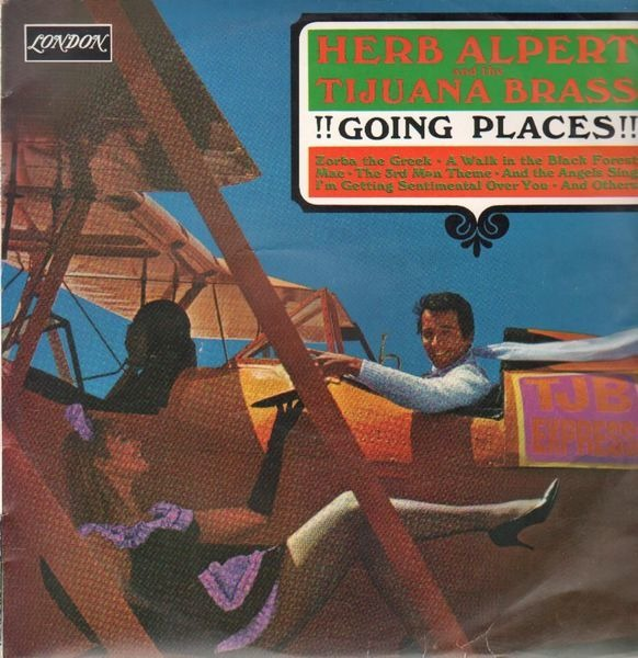 HERB ALPERT AND THE TIJUANA BRASS - !!Going Places!! - LP