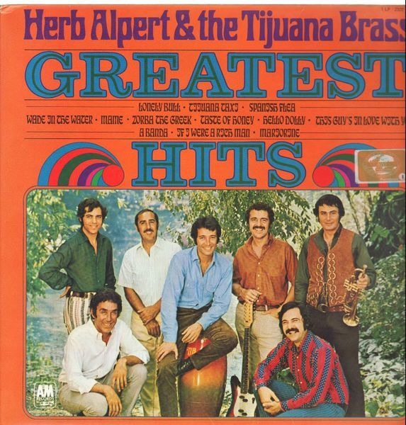 HERB ALPERT & THE TIJUANA BRASS - Greatest Hits - LP