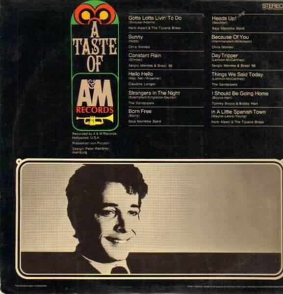 Herb Alpert, Sergio Mendes a.o. A Taste Of A&M