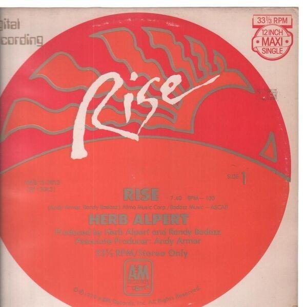 HERB ALPERT - Rise - 12 inch x 1