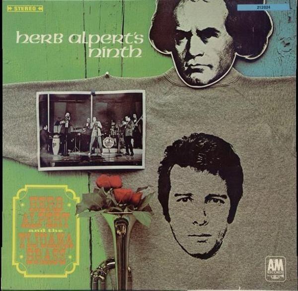 HERB ALPERT AND THE TIJUANA BRASS, HERB ALPERT & T - Herb Alpert's Ninth - LP