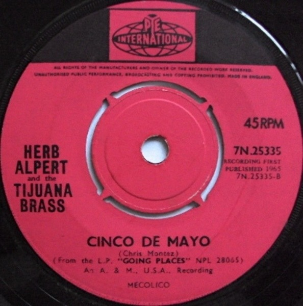 #<Artist:0x007efd46531908> - Spanish Flea / Cinco De Mayo