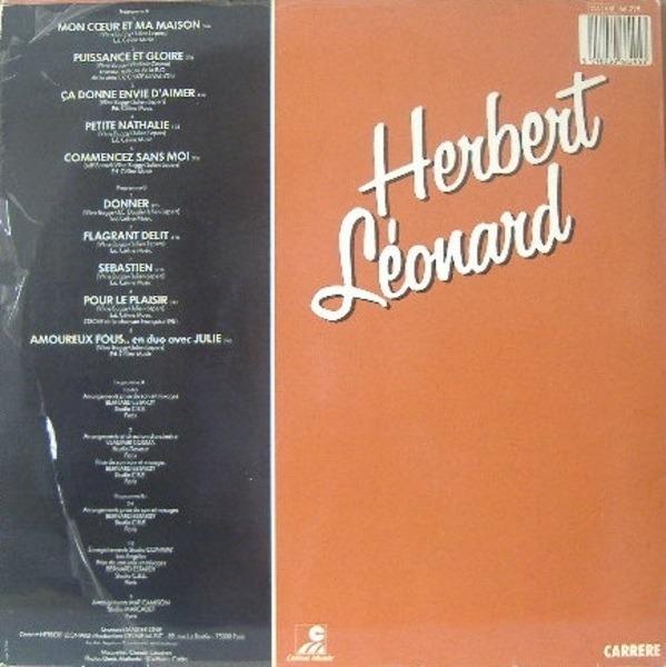 Herbert Léonard Mon Coeur Et Ma Maison
