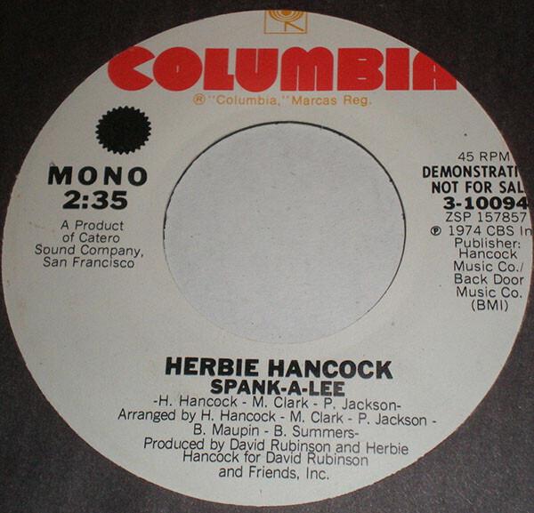 Herbie Hancock Spank-A-Lee