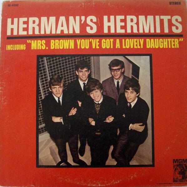 #<Artist:0x007f447983fdf0> - Introducing Herman's Hermits