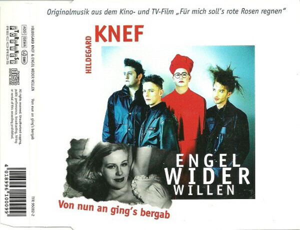 HILDEGARD KNEF & ENGEL WIDER WILLEN - Von Nun An Ging's Bergab - CD single