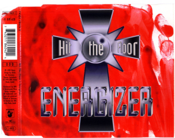 HIT THE FLOOR - Energizer - CD single