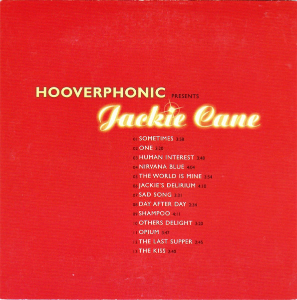 #<Artist:0x00007f651d098948> - Hooverphonic Presents Jackie Cane