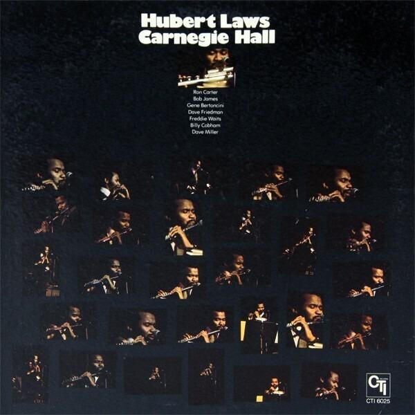 HUBERT LAWS - Carnegie Hall - 33T