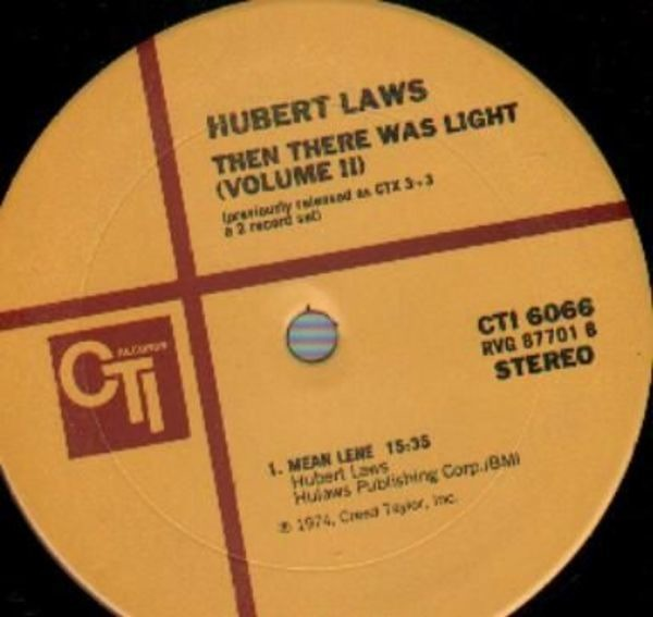 HUBERT LAWS - Then There Was Light (Volume 2) - 33T