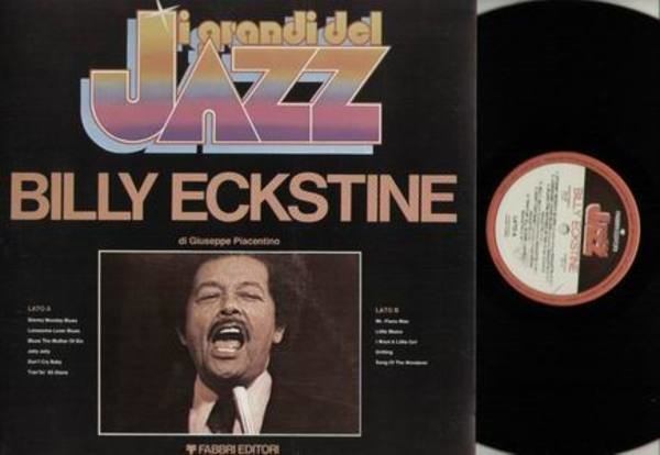 BILLY ECKSTINE - I grandi del Jazz Billy Eckstine - 33T