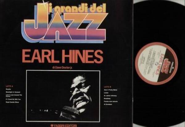 EARL HINES - I grandi del Jazz Earl Hines - LP